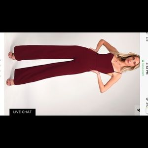 Lulus Wide Leg Jumpsuit